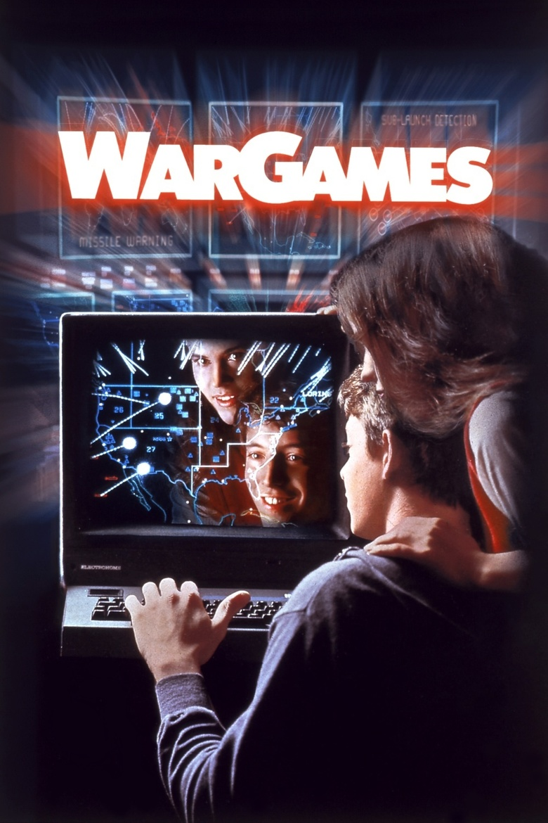 "Poster for the movie ""WarGames"""