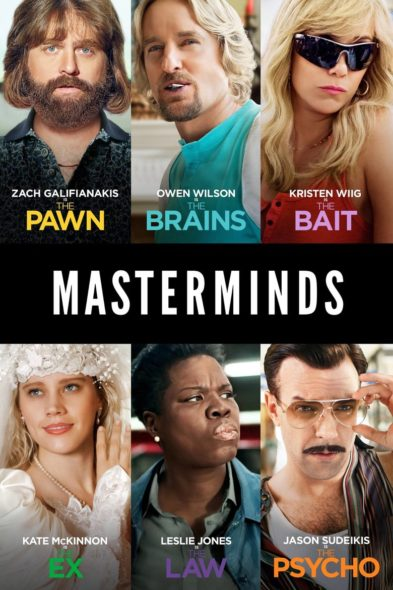 Masterminds - Movie Poster