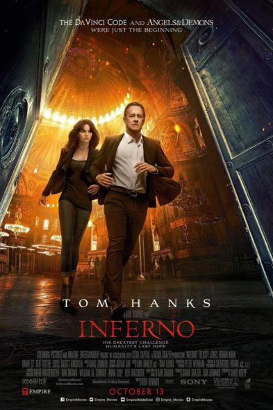 Inferno - Movie Poster