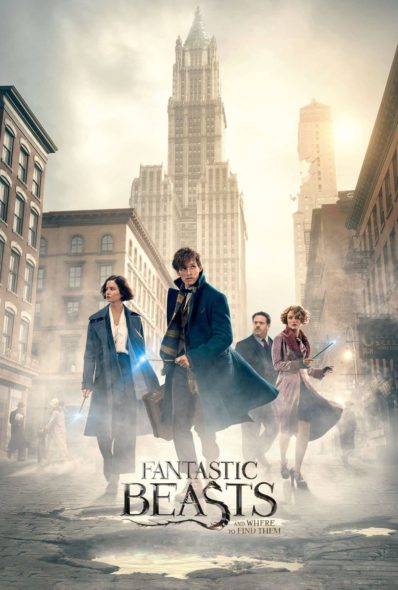Fantastic Beasts and Where to Find Them - Movie Poster