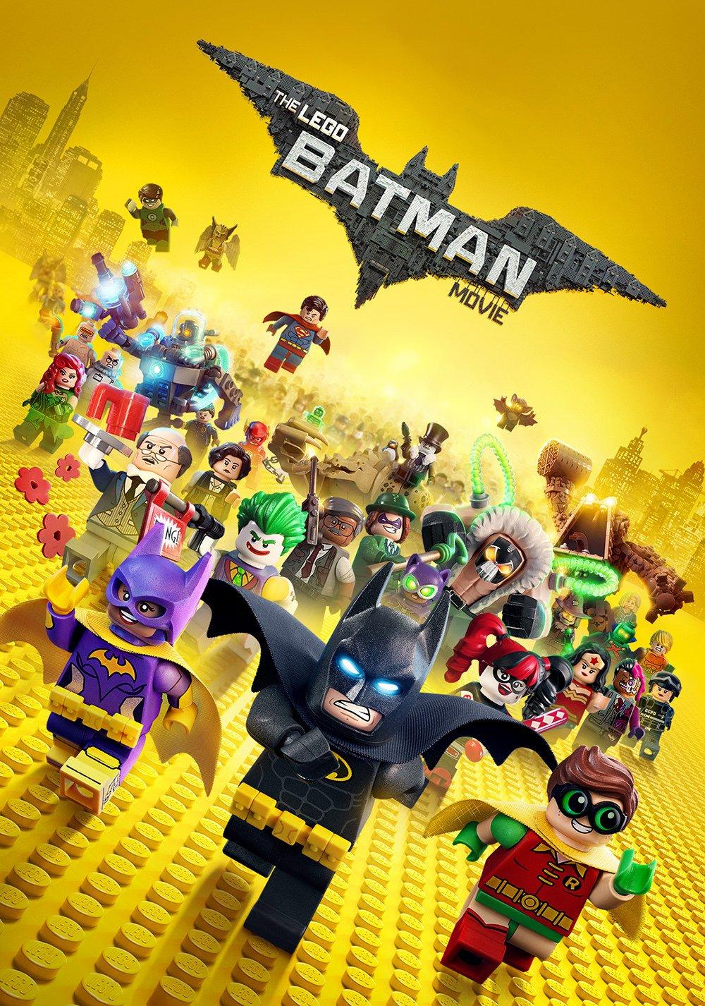 The Lego Batman Movie - Movie Poster