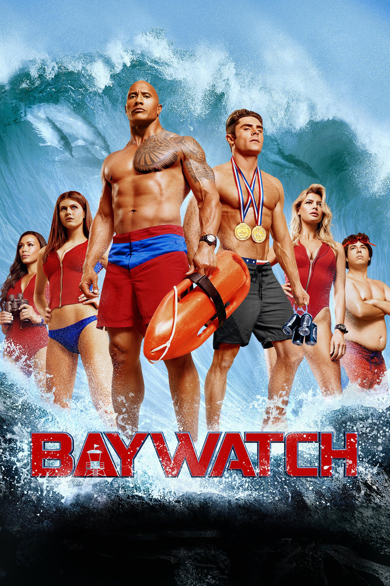 Baywatch - Movie Poster