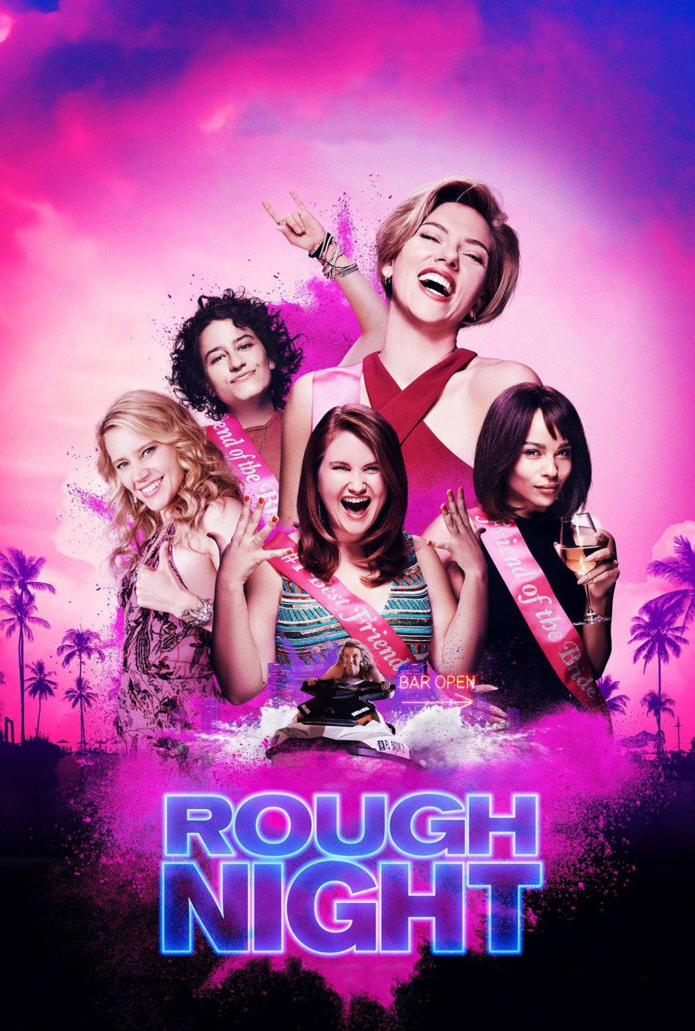 Rough Night - Movie Poster