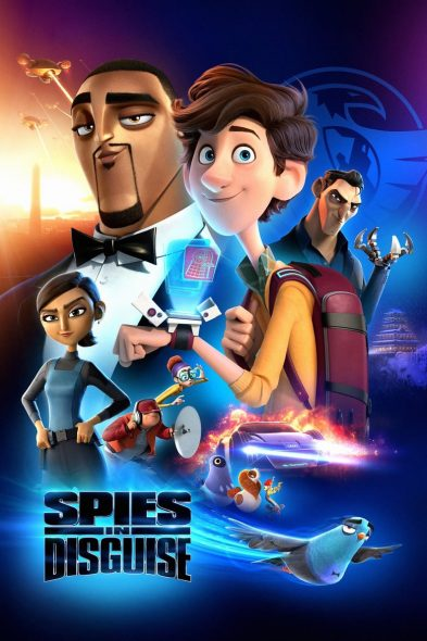 Spies in Disguise - Movie Poster