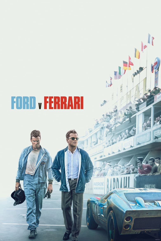 Ford v Ferrari - Movie Poster