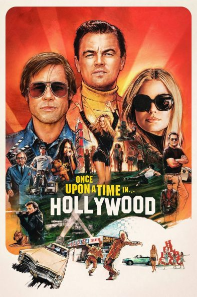 Once Upon a Time… in Hollywood - Movie Poster
